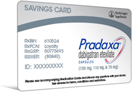 Savings card